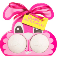 Bunny Butter Cheeks | Confezione regalo a forma di coniglio in edizione limitata di Pasqua | Contiene prodotti due bombe da bagno
