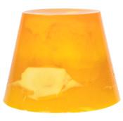 yuzu and cocoa gelatina de ducha de color naranja