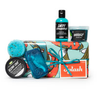 Regalo splash con productos con sal marina