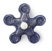 Ein blau-schimmernder Bubble Spinner