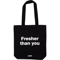 Fresher Then You tote bag