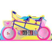 bike themed bath bomb and shower gel holder