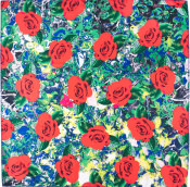 web roses knot wrap
