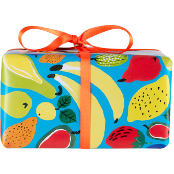 The side of the Juicy gift set