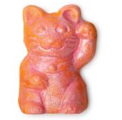 Lucky Cat - Spumante da bagno a forma di gatto rosa