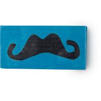 moustachio blue soap
