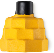 a yellow naked bubble bar