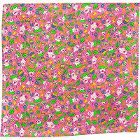 Foulard Lush con disegni a forma di uova e coniglietti colorati Lush Collezione di Pasqua 2021
