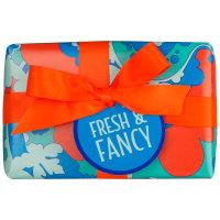 Fresh and Fancy caja de regalo de color azul y naranja
