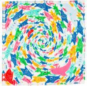 school fish knot wrap
