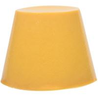 yog nog é uma gelatina amarela cremosa para uma lavagem no duche com aroma a caramelo
