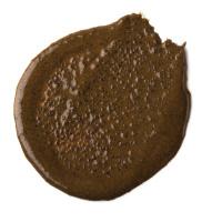 exfoliating coffee face mask blob