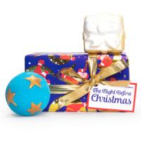 Confezione regalo di Natale The Night Before Christmas e il suo contenuto