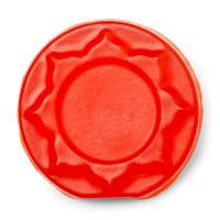 Orange circular soap