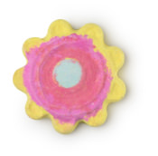 Mum Look What I Made You bath bomb in the shape of a flower