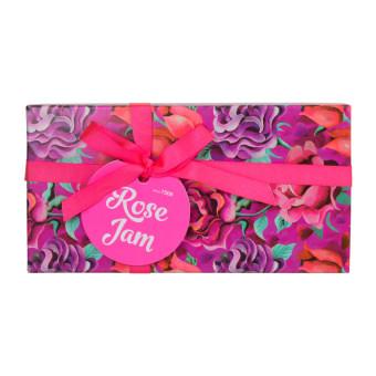 Rose Jam caja de regalo con rosas y productos con absoluto de rosa