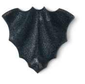 a black bat bath bomb