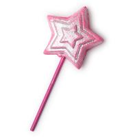 magic wand burbuja de baño reutilizable en forma de varita mágica de edición limitada de navidad