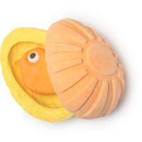 Chick - Bomba da bagno a forma di pulcino in edizione limitata di Pasqua | Con olio essenziale di geranio e di menta piperita, scoppiettanti e un cuore di FUN multiuso.