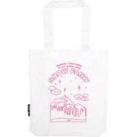a snow fairy tote bag