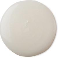 A round white shower gel splotch