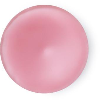 perfume sólido american cream de color rosa en envase circular
