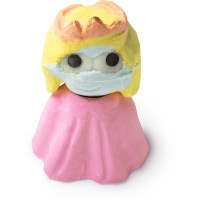 princess gift christmas bath bomb