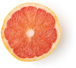Frischer Pink Grapefruitsaft