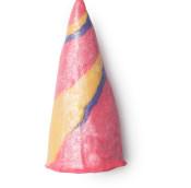 unicorn horn é uma das espumas exclusivas em forma de corno de unicórnio colorido para o banho