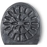 Schwarzes Seifenstück