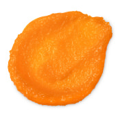 bright orange fresh looking exfoliating scrub