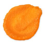 bright orange fresh looking exfoliating scrub