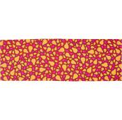 a orange festive wrap