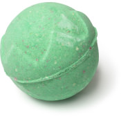 Grüne Badebombe