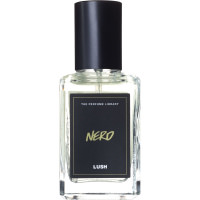 nero perfume with black and gold label