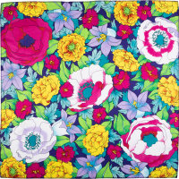 flower themed knot wrap