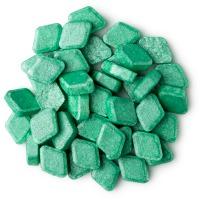 Grüne, Trapezförmige Mundwassertabs