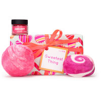 Sweetest Thing  é um presente cor de rosa para gulosos
