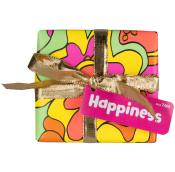 happiness caja de regalo de color verde y alegre con 2 productos para poner sol en tu bañera
