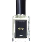 nero perfume de 30ml en envase de vidrio con etiqueta negra y dorada