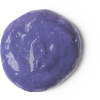 Violetter Haarconditioner für blondes Haar in einer Flasche aus recycletem Plastik