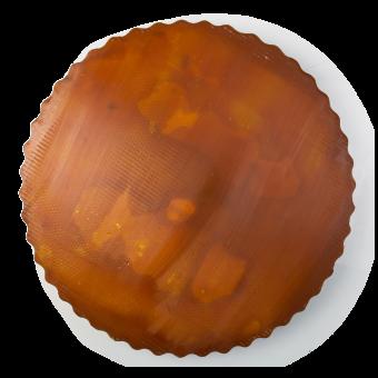 Forma di sapone fatto a mano di colore marrone
