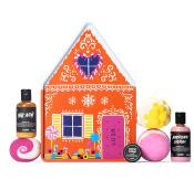 Gingerbread House - Confezione regalo di latta a forma di casetta di marzapane | Edizione Limitata Natale 2019