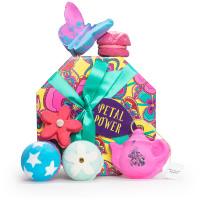 web petal power é um presente em forma de caixa de chapéus feita com 100% de cartão reciclado