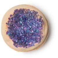 Geode Bomba da bagno - Un prezioso geode rivestito di sale marino ricco di minerali e zuccherini scoppiettanti.
