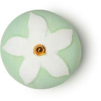 Jasmine Flower - Bomba da bagno floreale in edizione limitata per la Festa della Mamma | Con camomilla blu e gelsomino