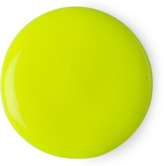 ectoplasm halloween crema da doccia di colore giallo fluorescente