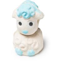 Lamb bomb bomb é uma bomba em forma de ovelha com absoluto de cacau e óleo de hortelã pimenta podes usar uma ou as duas metades de uma só vez