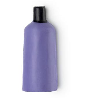 Gel doccia nudo di Natale Sleepy (Twilight) a forma di bottiglia viola con tappo nero