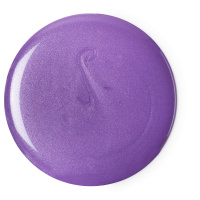 goddess gel de ducha floral de color morado